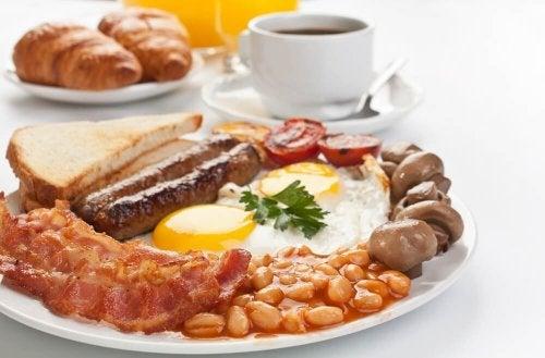 Proteinreiches Frühstück