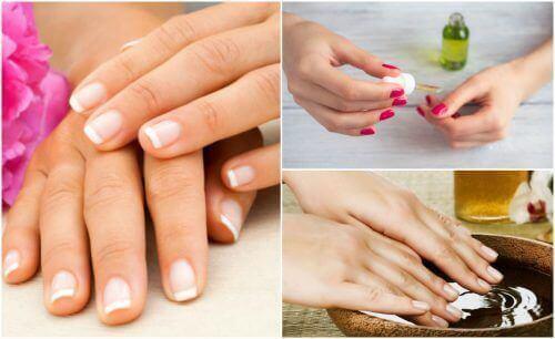Nagelpflege für schöne, starke Fingernägel