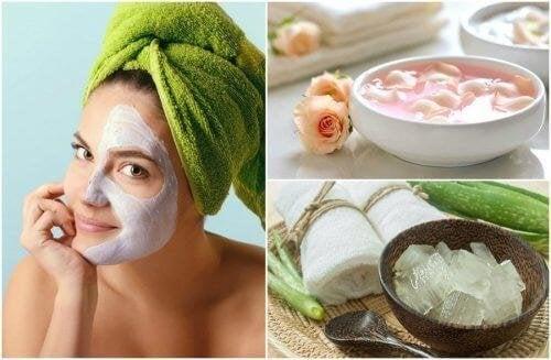 4 natürliche Peelings für das Gesicht