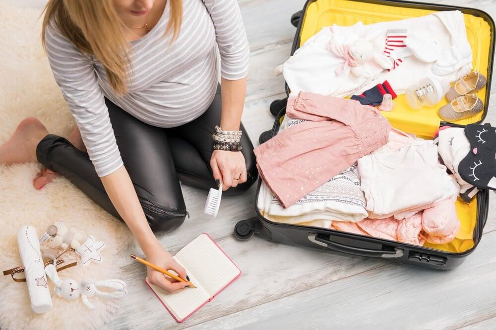 Packliste für die Kliniktasche zur Geburt