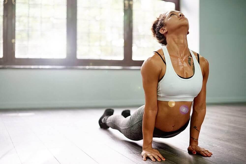 Yogaübungen für die Rückenmuskulatur