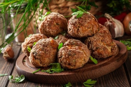 Traumhaftes Rezept für Auberginenbällchen