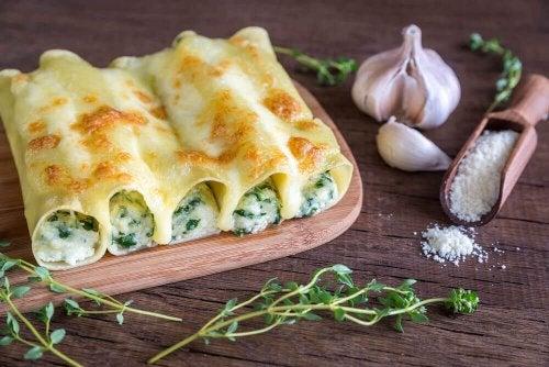 Cannelloni mit Gemüsefüllung selber machen