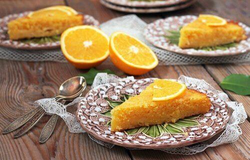 Orangenkuchen: 2 leckere und gesunde Rezepte