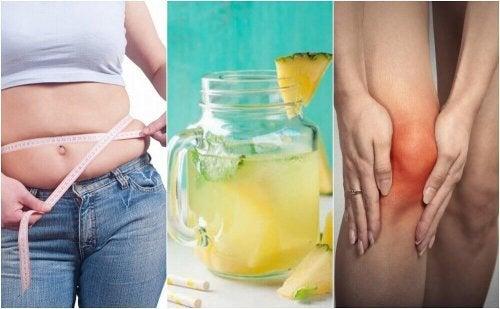 5 Gründe, weshalb du Ananaswasser trinken solltest