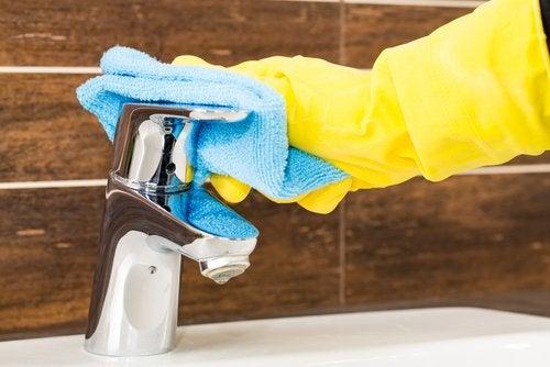 Hauswirtschaft: Bad putzen