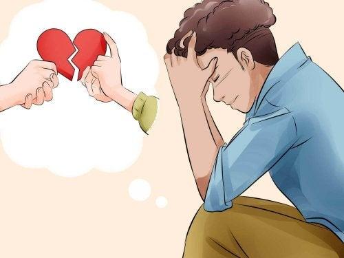 Es ist schwer für ein gebrochenes Herz, eine Beziehung einzugehen