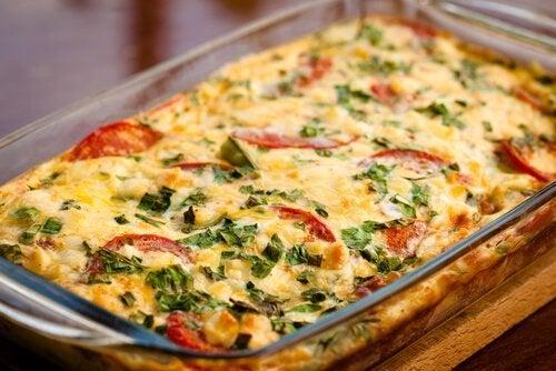 Zucchini-Tomaten-Gratin - lecker und einfach!