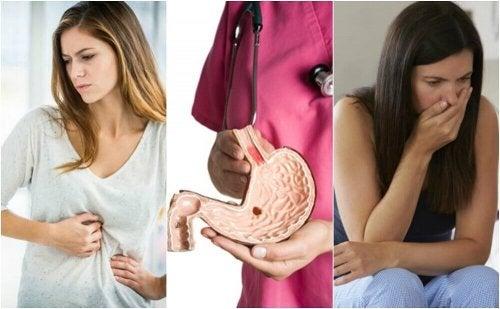 10 Anzeichen für ein Magengeschwür