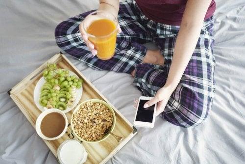 Dieäterfolg durch gesundes Frühstück