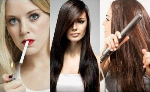Diese 8 Gewohnheiten schaden dem Haar
