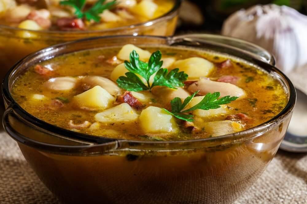 Rezept für spanischen Kartoffeleintopf