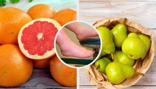 10 Obstsorten, die Wassereinlagerungen bekämpfen