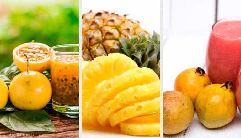 Die 10 gesündesten tropischen Früchte