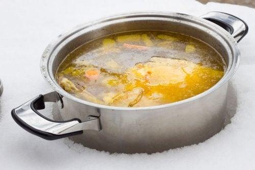 2 Rezepte für fettarme Suppe