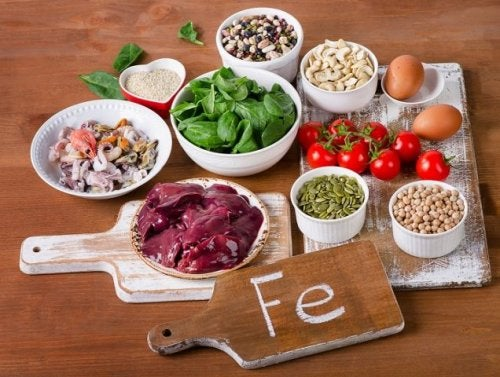 Eisenmangel kann durch gesunde Ernährung ausgeglichen werden