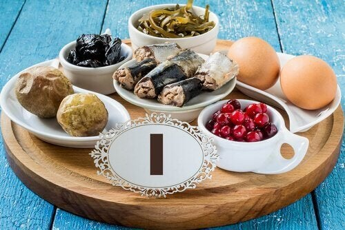 Jodhaltige Lebensmittel sind hilfreich bei einer Schilddrüsenunterfunktion in der Schwangerschaft