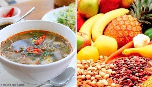 Nahrungsmittel, die sättigend wirken