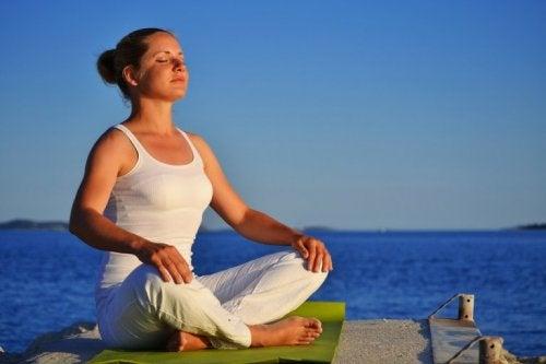 Yoga Atemübungen für seelische Ausgeglichenheit