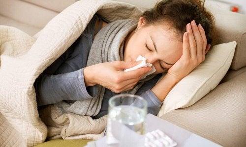 Bei einer Erkältung solltest du dich richtig ausruhen
