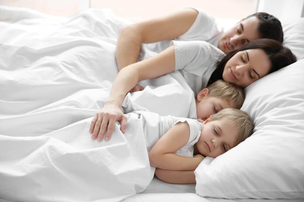 Darf das Kind im Elternbett schlafen?