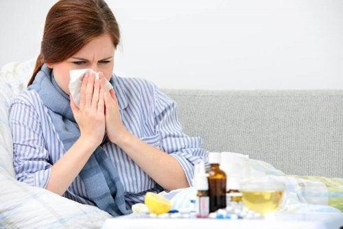Du solltest dich ausruhen um eine Erkältung zu bekämpfen
