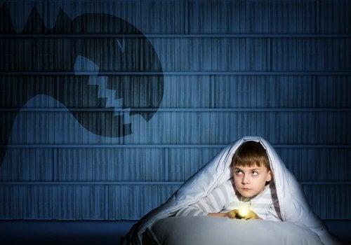 Im Elternbett schlafen bei Angst