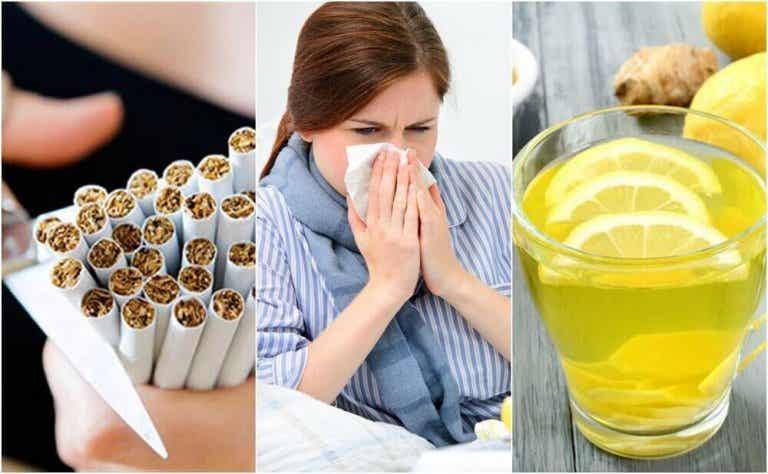 10 Maßnahmen um eine Erkältung zu bekämpfen