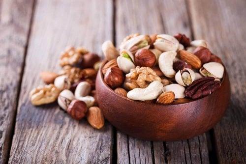 Nüsse für mehr rote Blutkörperchen