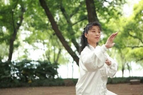 Tai Chi kann bei nervösen Menschen für innere Ruhe sorgen