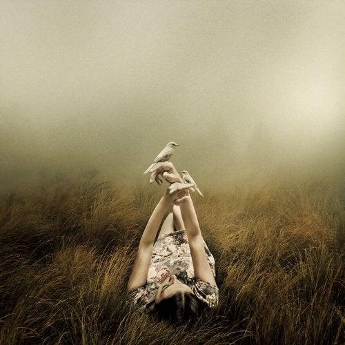 Schaffe es, alleine glüchlich zu sein