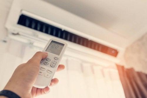 Fernbedienung für die Klimaanlage