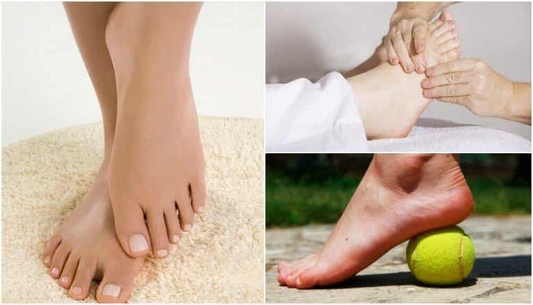 Geschwollene Füße mit Hausmitteln verhindern