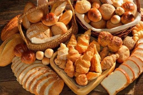 Körbe voller Brot