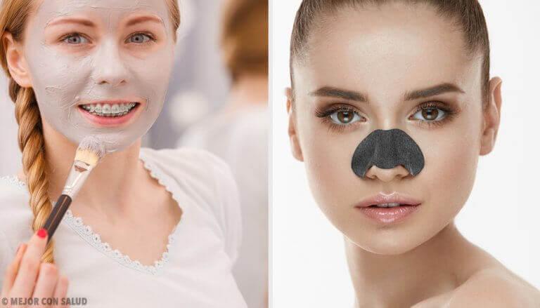 Masken zur Beseitigung von Mitessern