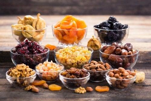 Rezepte mit Trockenfrüchten und Nüssen