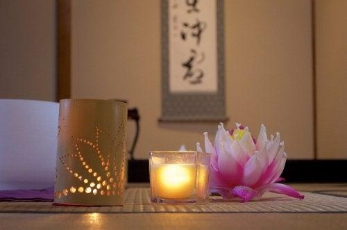 Ambiente durch Kerzenlicht erzeugen
