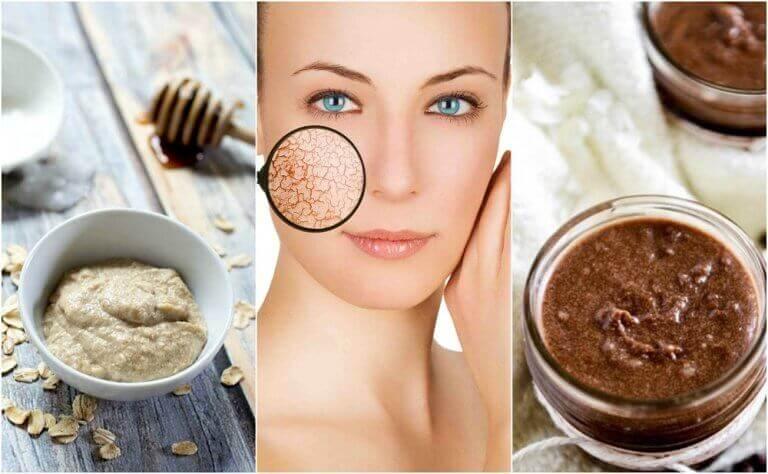 Feuchtigkeitsmasken für trockene Haut selber machen