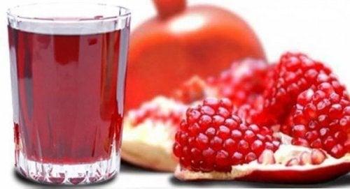 Der Saft des Granatapfel senkt deinen Blutdruck