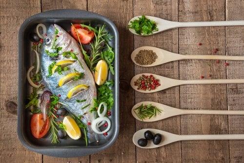 Fisch im Ofen backen