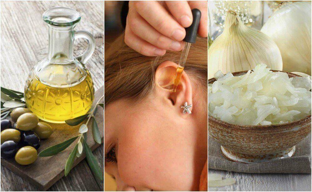 Verwende diese natürlichen Heilmittel gegen Ohrenschmerzen