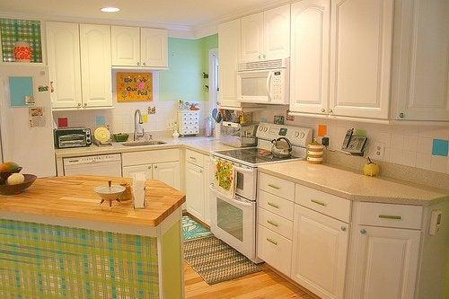 Umgestaltung der Küche