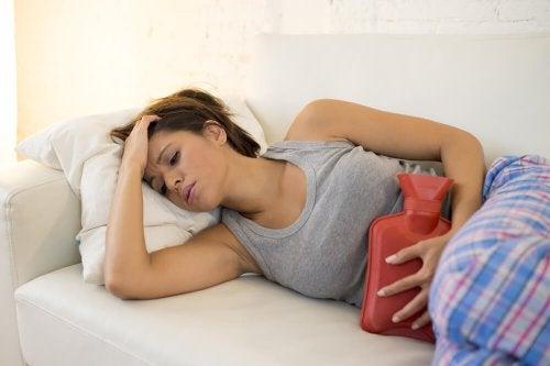 Schmerzen bei Monatsblutung