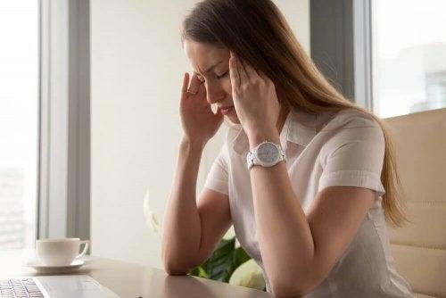 Beschwerden durch Monatsblutung
