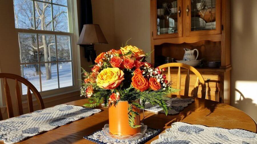 7 Ideen für günstige Tischdeko