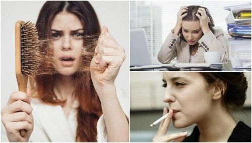 10 mögliche Gründe für Haarausfall