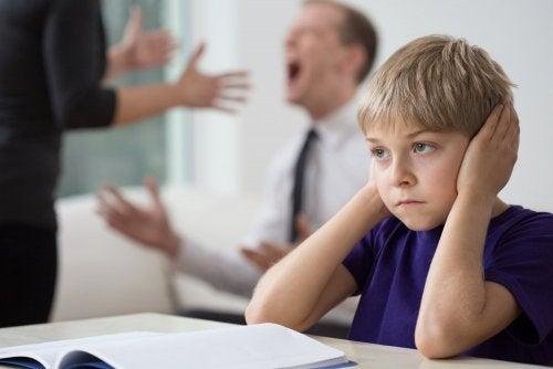 Wie sich Streit der Eltern auf die Kinder auswirkt