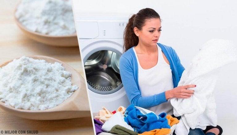 Öl-Flecken von Kleidungsstücken entfernen