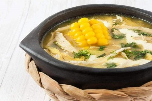Ajiaco-Suppe - Rezept