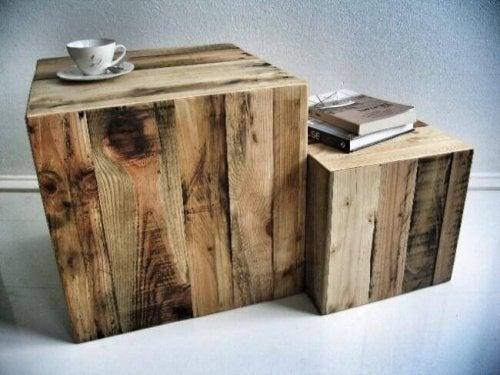 Deko-Ideen - Holztisch